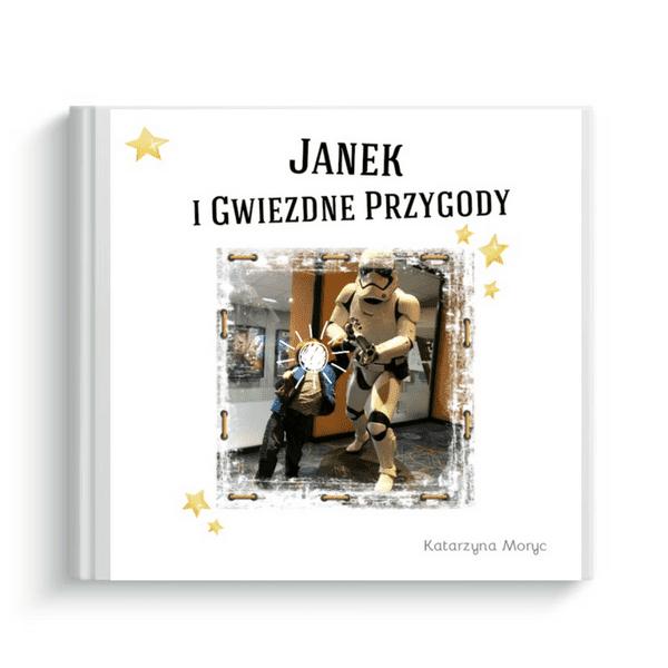 książeczka wg własnego projektu Janek i gwiezdne przygody