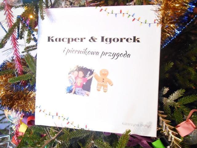 książka Kacper i Igorek