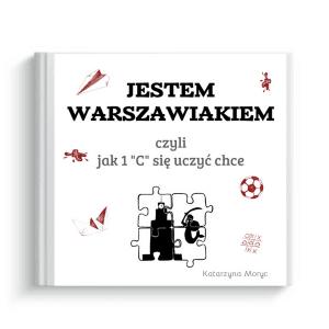 szablon książki jestem Warszawiakiem