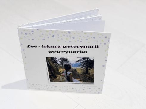 Bajkowierszownia książeczka standard bajki szyte na miarę bajkowierszownia