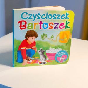 Katarzyna Moryc seria Dbam o zdrowie Czyścioszek Bartoszek
