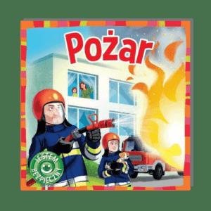 Pożar JESTEM BEZPIECZNY Katarzyna Moryc