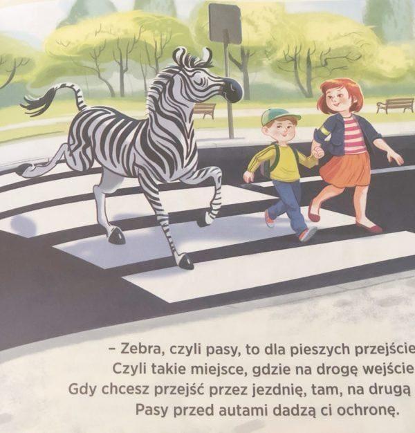 Na drodze JESTEM BEZPIECZNY Katarzyna Moryc