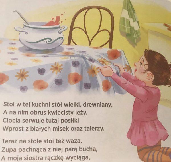 W kuchni seria JESTEM BEZPIECZNY Katarzyna Moryc