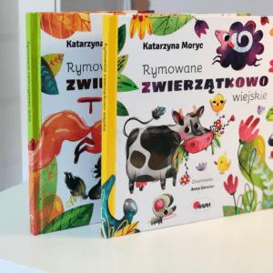 książki z serii Rymowane zwierzątkowo Katarzyna Moryc