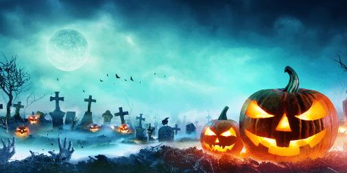 Halloween dynie cmentarz bajkowierszownia.pl
